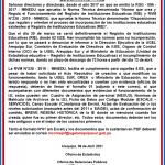 COMUNICADO PARA TODOS LOS PENSIONISTAS CESANTES Y SOBREVIVIENTES POR VIUDEZ, ORFANDAD, ASCENDENCIA DEL D.L. 20530